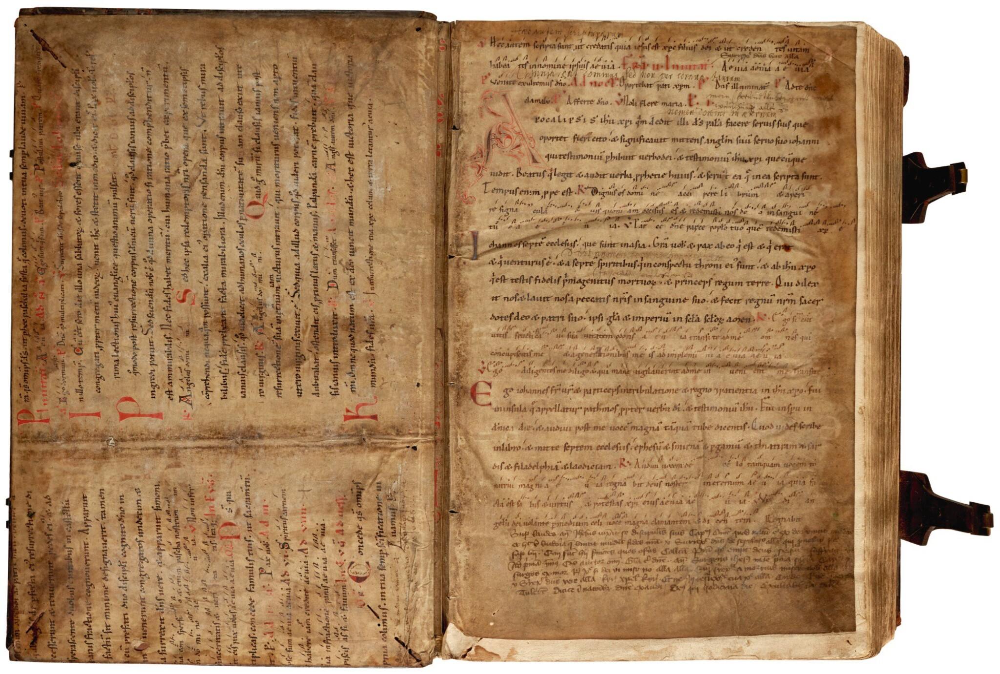 View full screen - View 1 of Lot 236. Pelbartus de Themeswar, Sermones pomerii de sanctis, Lyon, 1514, contemporary stamped calf.