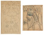 JAMINI ROY | i. UNTITLED (GANESH) ii. UNTITLED (KINGDOM OF CARDS)