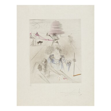 View 2. Thumbnail of Lot 93. SALVADOR DALÍ   THE HIPPIES (MICHLER & LÖPSINGER 377-387; FIELD 69-13).