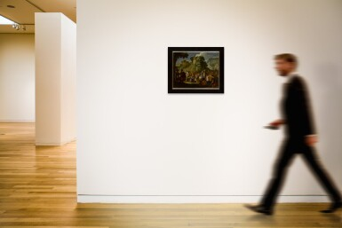 View 4. Thumbnail of Lot 593. Christ on the road to Calvary.