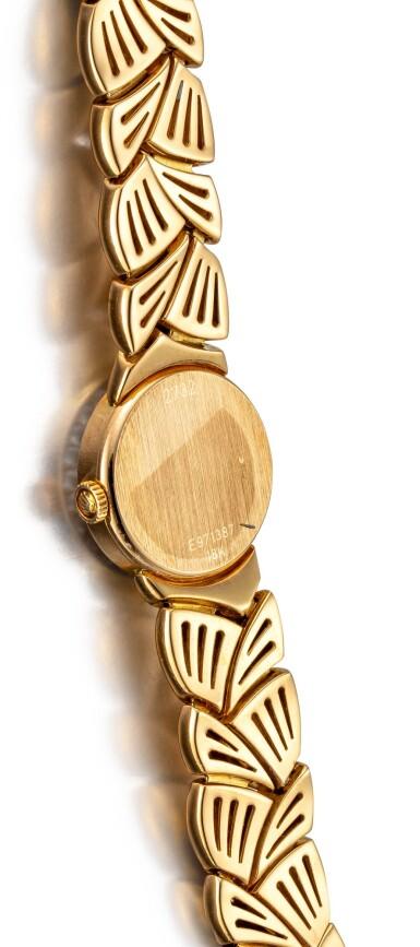 View 3. Thumbnail of Lot 8164. ROLEX | REFERENCE 2732 | A YELLOW GOLD AND DIAMOND-SET BRACELET WATCH, CIRCA 1990 |  勞力士 |  型號2732 黃金鑲鑽石鏈帶腕錶,約1990年製.