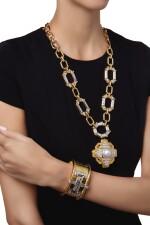 SUITE OF GOLD AND GEM-SET JEWELS, DAVID WEBB   黃金鑲寶石首飾套裝,David Webb