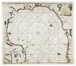 KEULEN, JOHANNES VAN, AND CLAES JANSZOON VOOGHT   Pas-kaart van de Golff van Mexico. Amsterdam: Johannes Van Keulen, [1687]