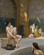 JEAN-LÉON GÉRÔME | Femmes au bain