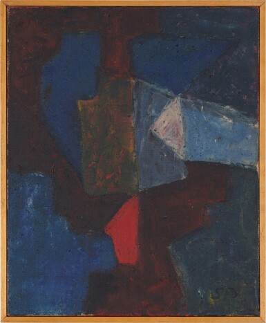 View 2. Thumbnail of Lot 5. Composition, 1966.