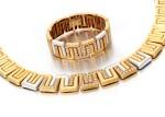 DIAMOND NECKLACE AND BRACELET   (COLLANA E BRACCIALE CON DIAMANTI)