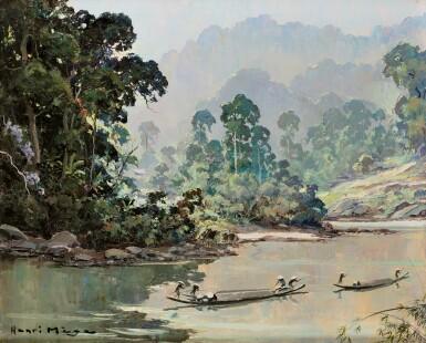View 1. Thumbnail of Lot 2026. Henri Mège 亨利·美治 | Matinée (Haute Région) Vietnam 上午 (高地區) 越南.