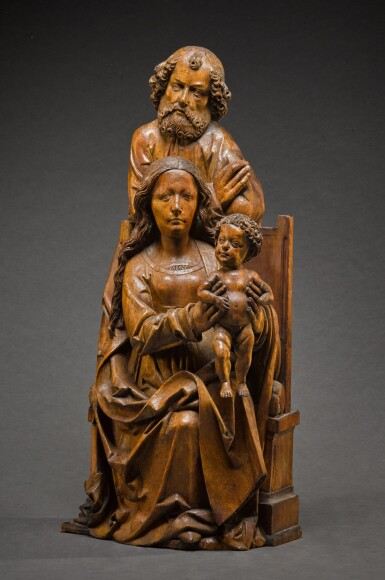 View 2. Thumbnail of Lot 9. WORKSHOP OF TILMAN RIEMENSCHNEIDER  | THE HOLY FAMILY.