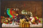 Still Life with Wine Glass and Fruits | 靜物與酒杯和水果