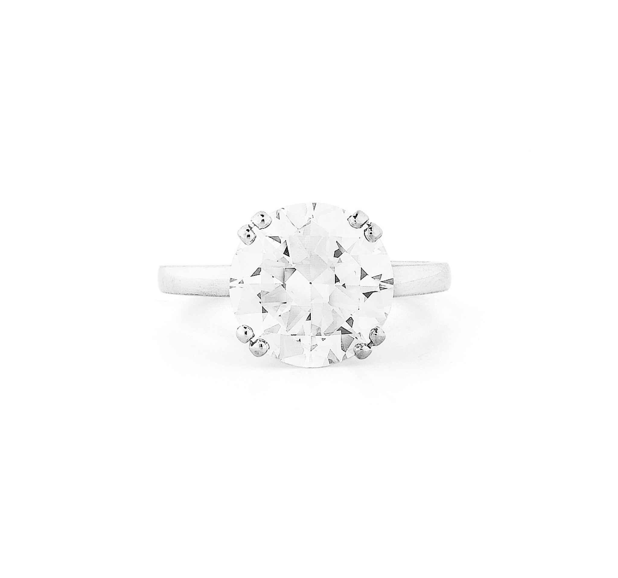 View full screen - View 1 of Lot 88. Bague diamant | Diamond ring.
