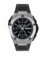 IWC | INGENIEUR, REF 376501 TITANIUM SPLIT-SECONDS CHRONOGRAPH WRISTWATCH WITH DAY AND DATE CIRCA 2012
