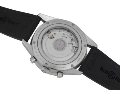 BELL & ROSS AND BENRUS | TWO STAINLESS STEEL WRISTWATCHES CIRCA 2014 AND 1979