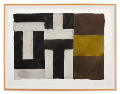 View 2. Thumbnail of Lot 216. SEAN SCULLY | 8.30.89.
