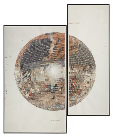 View 1. Thumbnail of Lot 205. DAVE MULLER | SELF PORTRAIT IN THE STUDIO.