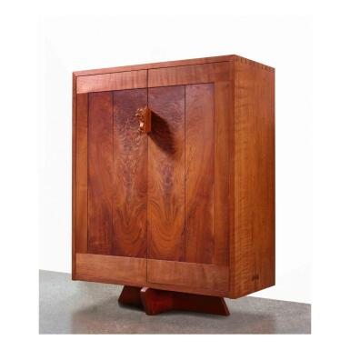 """View 1. Thumbnail of Lot 125. """"Bahut"""" Cabinet."""