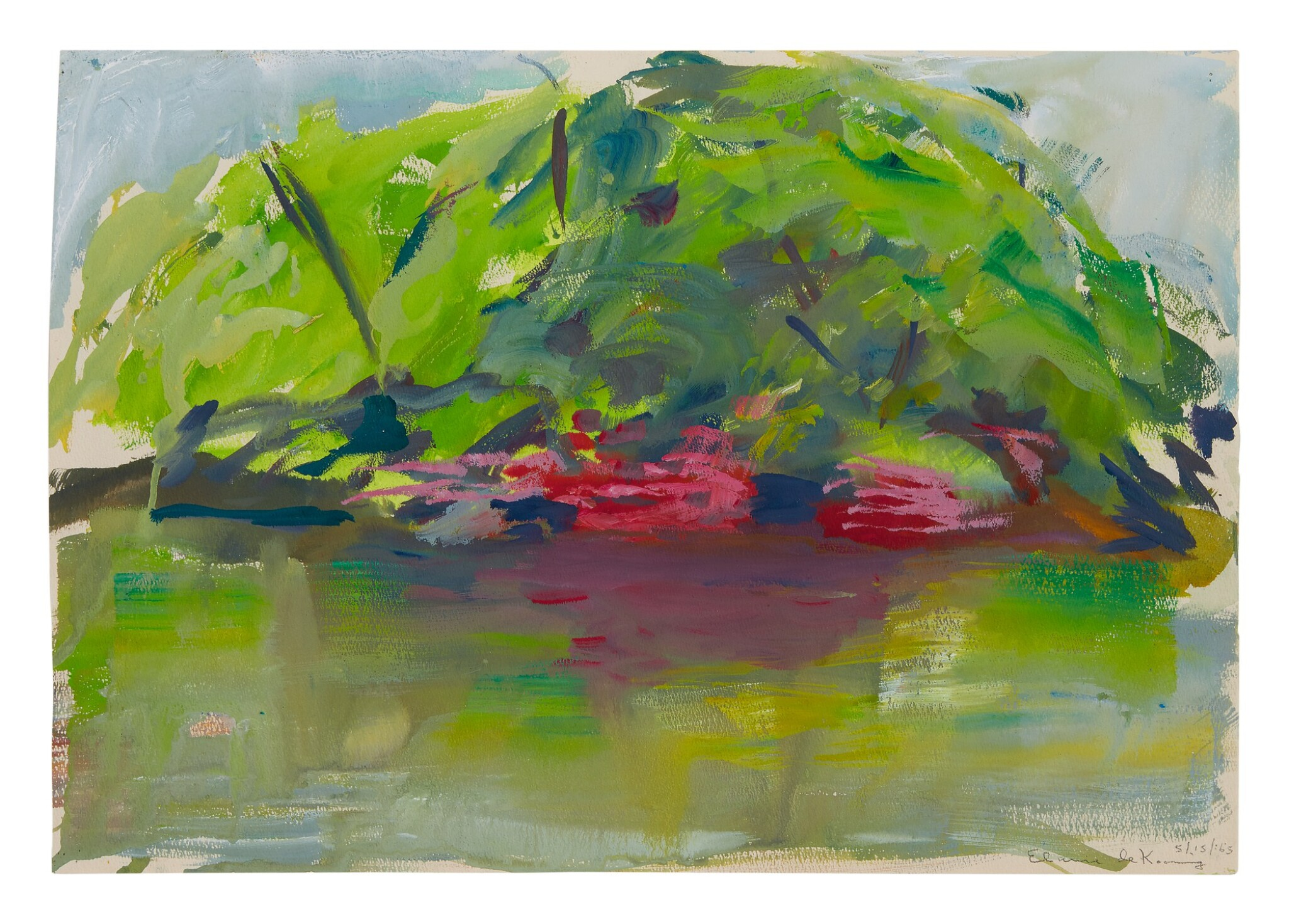 View full screen - View 1 of Lot 39.  ELAINE DE KOONING | UNTITLED.