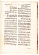 Isidorus Hispalensis, Etymologiae, Venice, 1483, later half calf
