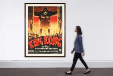 View 3. Thumbnail of Lot 105. KING KONG (1933) POSTER, FRENCH .