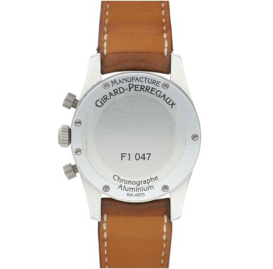 View 5. Thumbnail of Lot 229. REFERENCE 4955 AN ALUMINUM AUTOMATIC CHRONOGRAPH WRISTWATCH WITH DATE, MADE FOR FERRARI, CIRCA 1995.