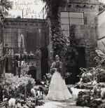 Gisèle Freund | Frida Kahlo in her Garden of Casa Azul, Mexico, 1948