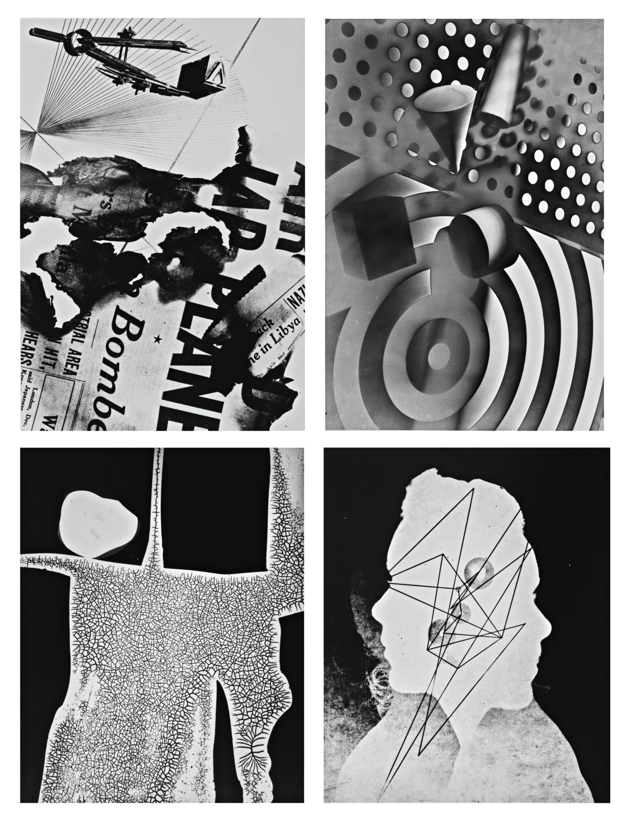 View full screen - View 1 of Lot 29. GYÖRGY KEPES   SELECTED ABSTRACTIONS.