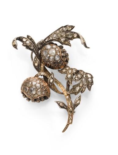 Diamond brooch [Broche diamants], early 19th century [début du 19ème siècle]