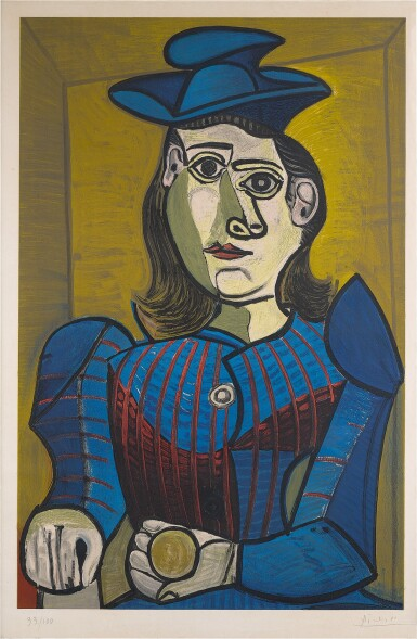 Femme assise (Dora Maar)