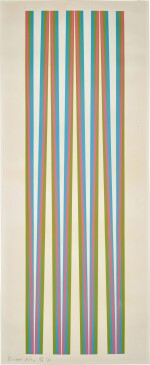 BRIDGET RILEY |  UNTITLED (ELONGATED TRIANGLES 5) (S. 13)