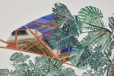 View 5. Thumbnail of Lot 14. Untitled (Plants with Skylight)         .