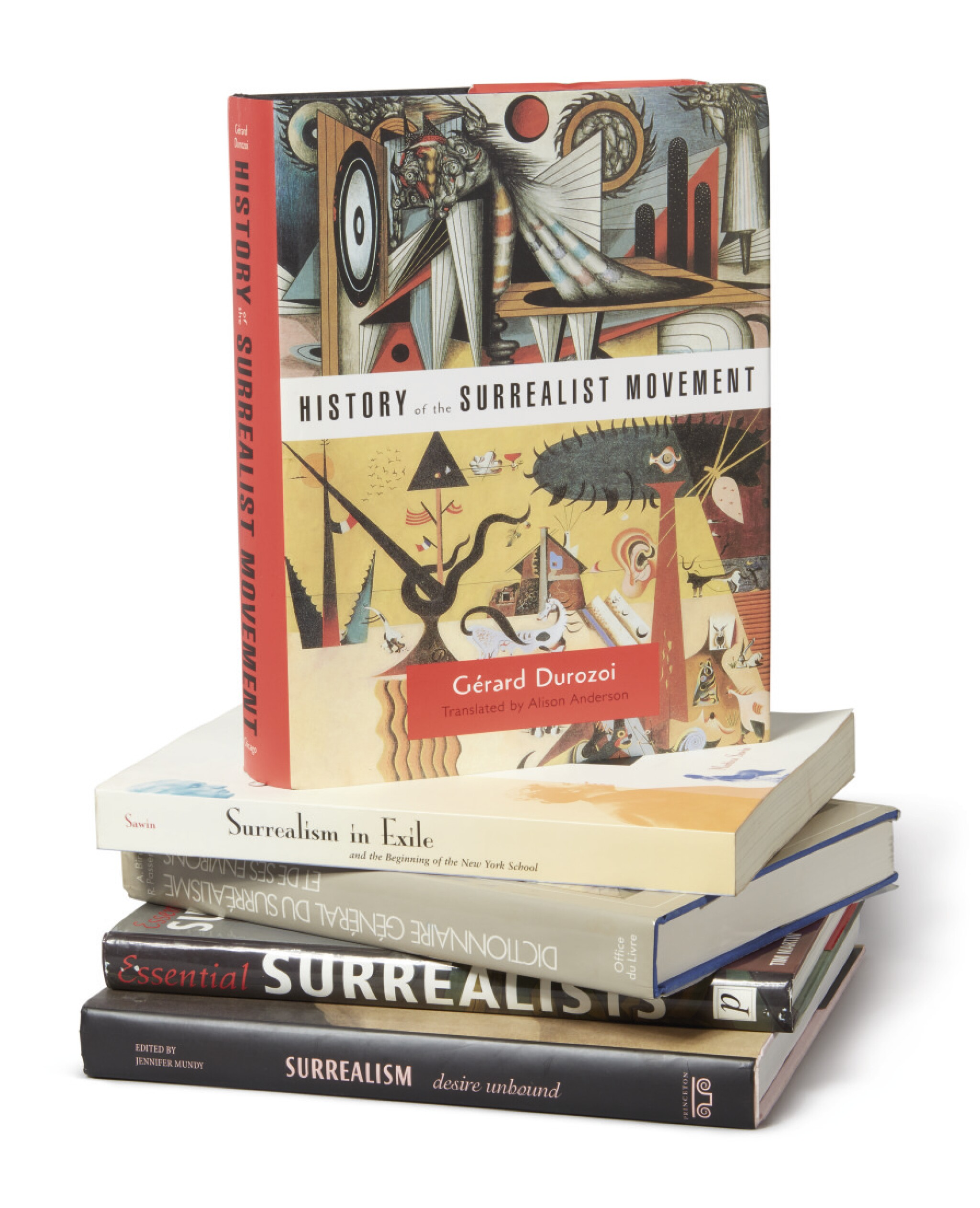View full screen - View 1 of Lot 42. A SURREALIST LIBRARY.