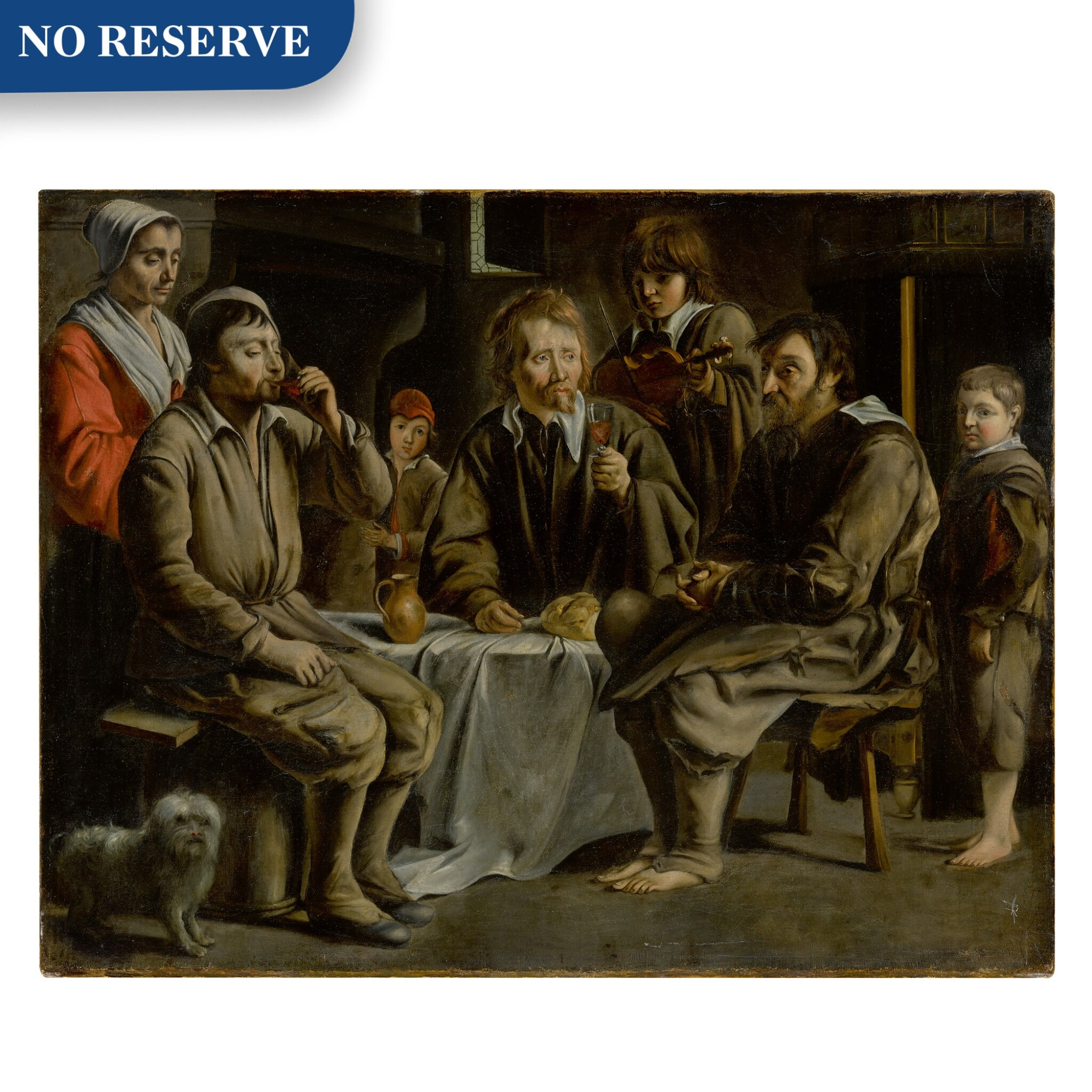 View full screen - View 1 of Lot 52. The Peasant's Meal.