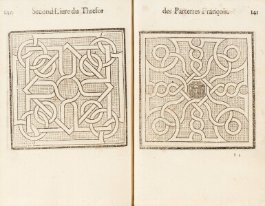 View 3. Thumbnail of Lot 62. Le Thresor des parterres de l'univers. Genève, 1629. In-4. Reliure de Bruyère. Seule et unique édition..