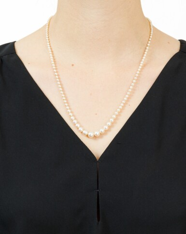 COLLIER PERLES FINES | NATURAL PEARL NECKLACE