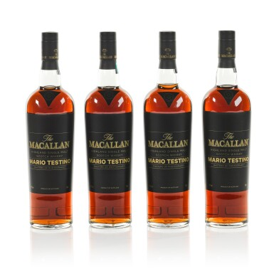 View 1. Thumbnail of Lot 7. The Macallan Mario Testino Masters Of Photography, Six Pillars, Full Collection (4 bts 70cl & 24 bts 5cl).