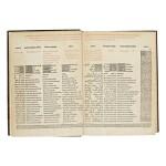 PSALTERIUM, HEBRAEUM, GRAECU[M], ARABICU[M], & CHALDAEU[M], CU[M] TRIBUS LATINIS I[N]TERP[RE]TAT[I]O[N]IBUS & GLOSSIS, EDITED BY AGOSTINO GIUSTINIANI, GENOA: PIETRO PAOLO PORRO FOR NICCOLÒ GIUSTINIANI, 1516