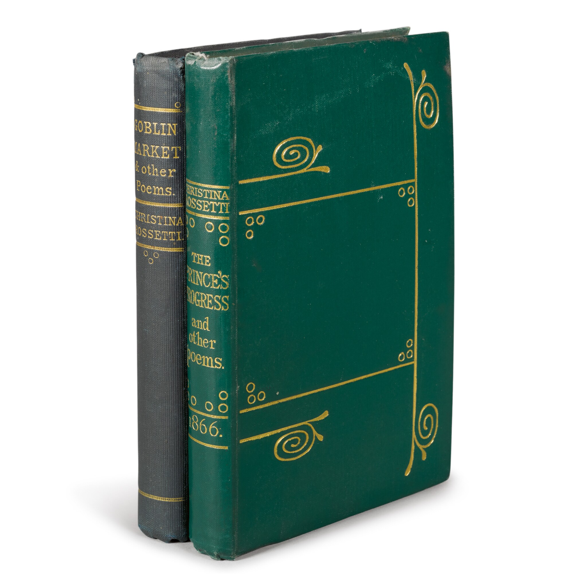 View full screen - View 1 of Lot 52. ROSSETTI, CHRISTINA | Two First Editions.