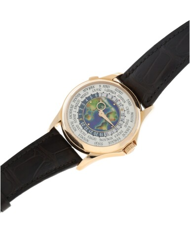 View 6. Thumbnail of Lot 59. REFERENCE 5131R-011 A FINE PINK GOLD AUTOMATIC WORLD TIME WRISTWATCH WITH CLOISONNE ENAMEL DIAL, CIRCA 2017.