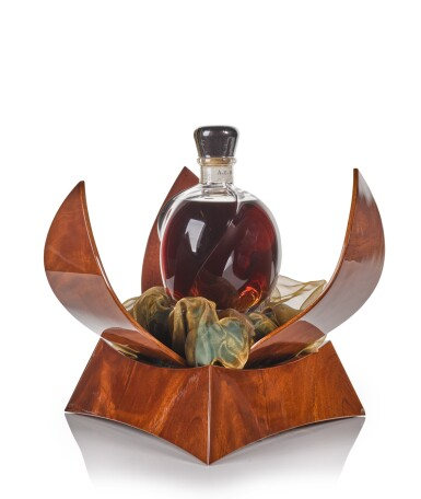 View 3. Thumbnail of Lot 125. A.E. D'Or Sign of Time Decanter 40.0 abv NV .