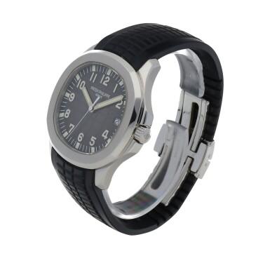 View 2. Thumbnail of Lot 70. Aquanaut, Ref. 5167A Stainless steel wristwatch with date Circa 2007 | 百達翡麗 5167A型號「Aquanaut」精鋼腕錶備日期顯示,年份約2007.