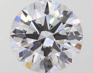 A 3.78 Carat Round Diamond, D Color, IF Clarity 3.78 卡拉圓形鑽石,D色,內部無瑕(IF)