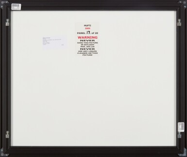 View 40. Thumbnail of Lot 287. GILBERT & GEORGE   MUFTI.