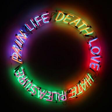 View 1. Thumbnail of Lot 112. Life, Death, Love, Hate, Pleasure, Pain.
