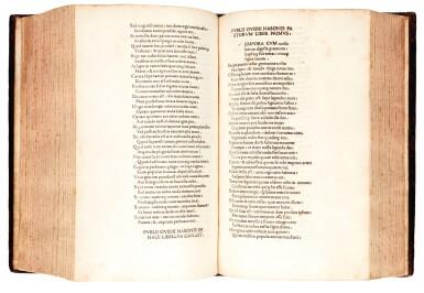 View 1. Thumbnail of Lot 233. Ovid, Opera, Venice, 1474, later calf.