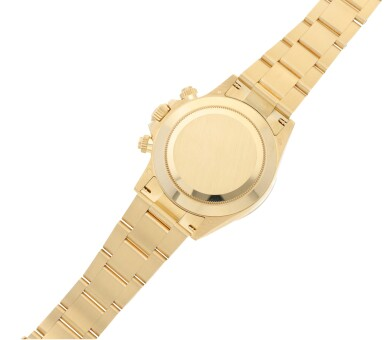 View 7. Thumbnail of Lot 15. ROLEX | REFERENCE 116508 DAYTONA   A YELLOW GOLD AUTOMATIC CHRONOGRAPH WRISTWATCH WITH BRACELET, CIRCA 2019.
