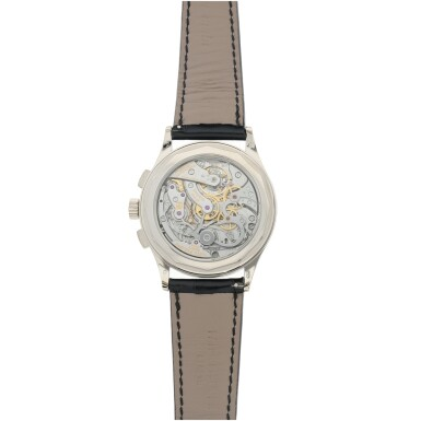 View 4. Thumbnail of Lot 168. REFERENCE 5170G A WHITE GOLD CHRONOGRAPH WRISTWATCH WITH PULSATIONS DIAL, CIRCA 2017.