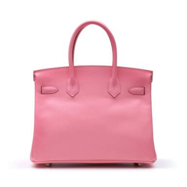 View 4. Thumbnail of Lot 302. Rose Confetti Birkin 30cm in Epsom Leather with Palladium Hardware, 2020.