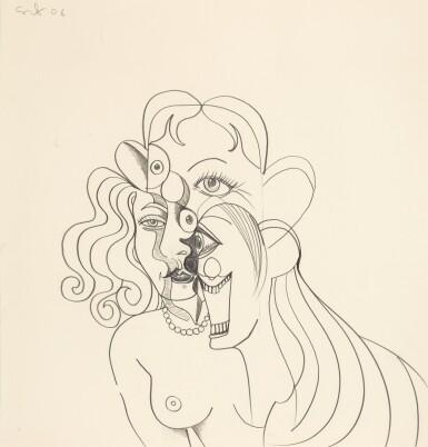 GEORGE CONDO   PORTRAIT STUDIES