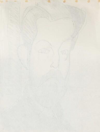 View 3. Thumbnail of Lot 13. Tête de Paul Alexandre de trois quart.
