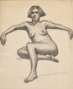 LAURENCE STEPHEN LOWRY, R.A. | STUDY OF A NUDE
