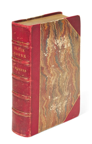 Dickens, Bleak House, 1853, first edition in book form, dedication copy inscribed to Knight